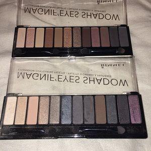 2 Rimmel Eyeshadow Palettes